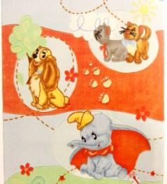 Ristrutturazioni e arredamenti Agostino - Tappeto mod. Dumbo, lilli e aristogatti