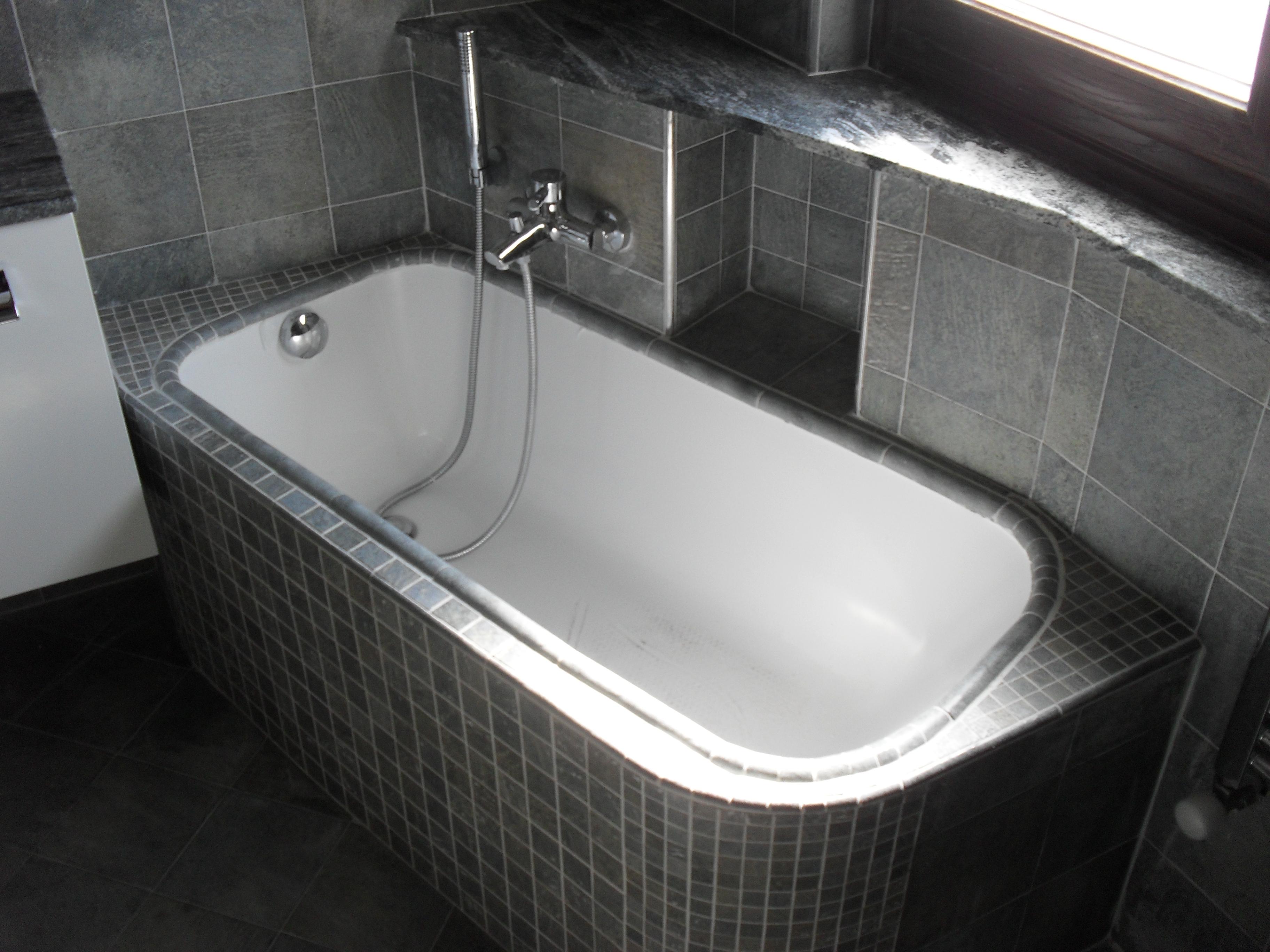 Bagno effetto finto pietra arredamenti agostino - Finto mosaico bagno ...