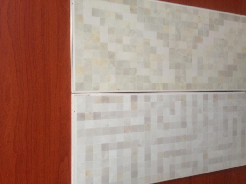 Piastrelle bagno effetto mosaico great piastrelle cucina mosaico autoadesivo mosaico piastrelle - Piastrelle bagno effetto mosaico ...