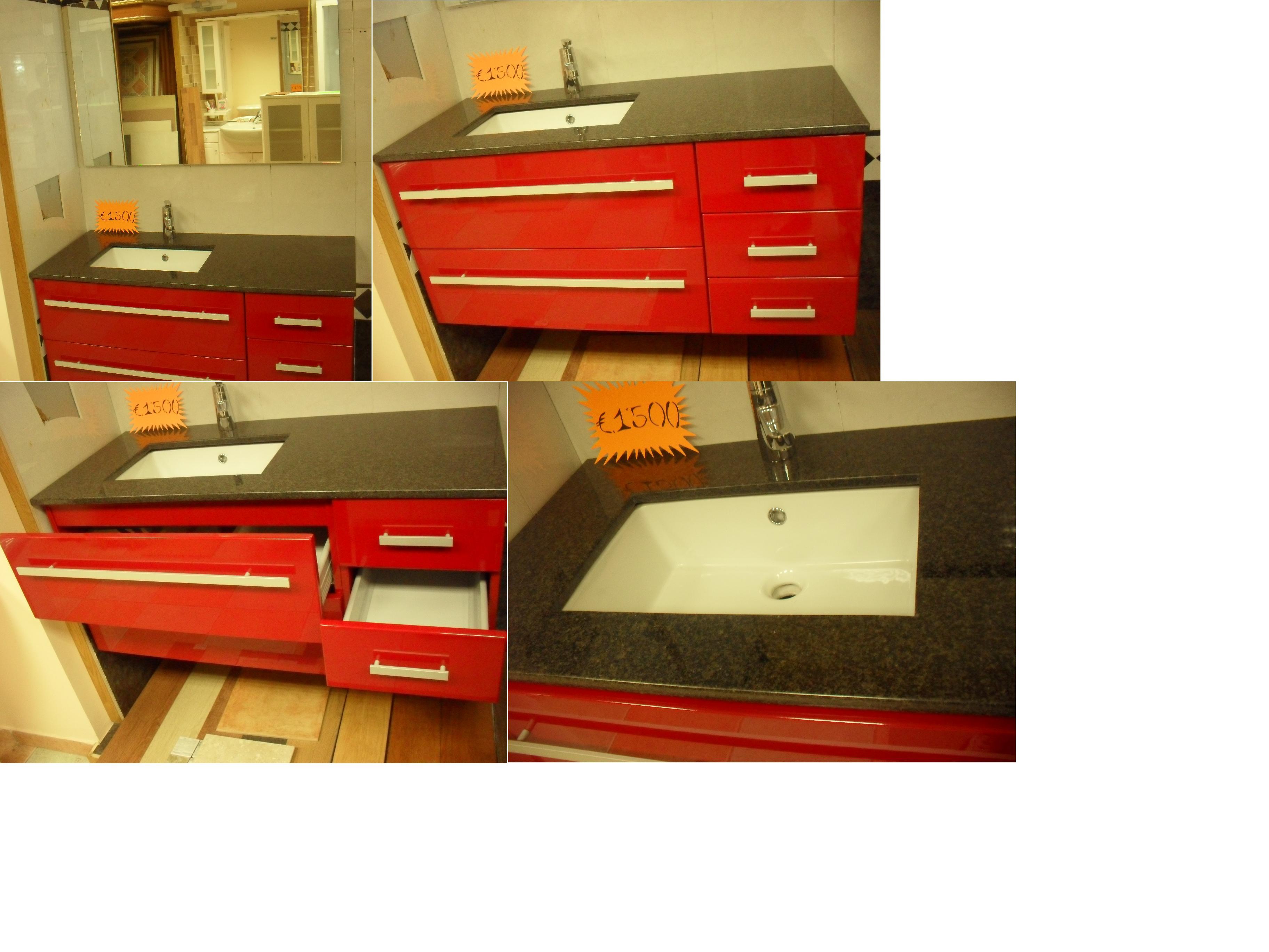 Arredo bagno rosso immagini ispirazione sul design casa - Mobile bagno rosso ikea ...